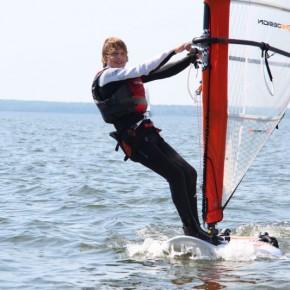 Noored Eesti purjelaudurid osalesid Euroopa meistrivõistlustel