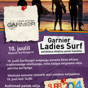 Garnier Ladies surf 2014