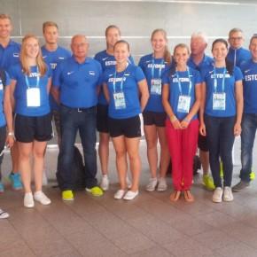 Eesti koondis lendas täna noorte suveolümpiamängudele Nanjingi
