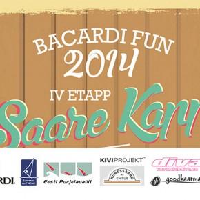 Bacardi Fun 4.etapi tulemused, pildid ja VIDEO