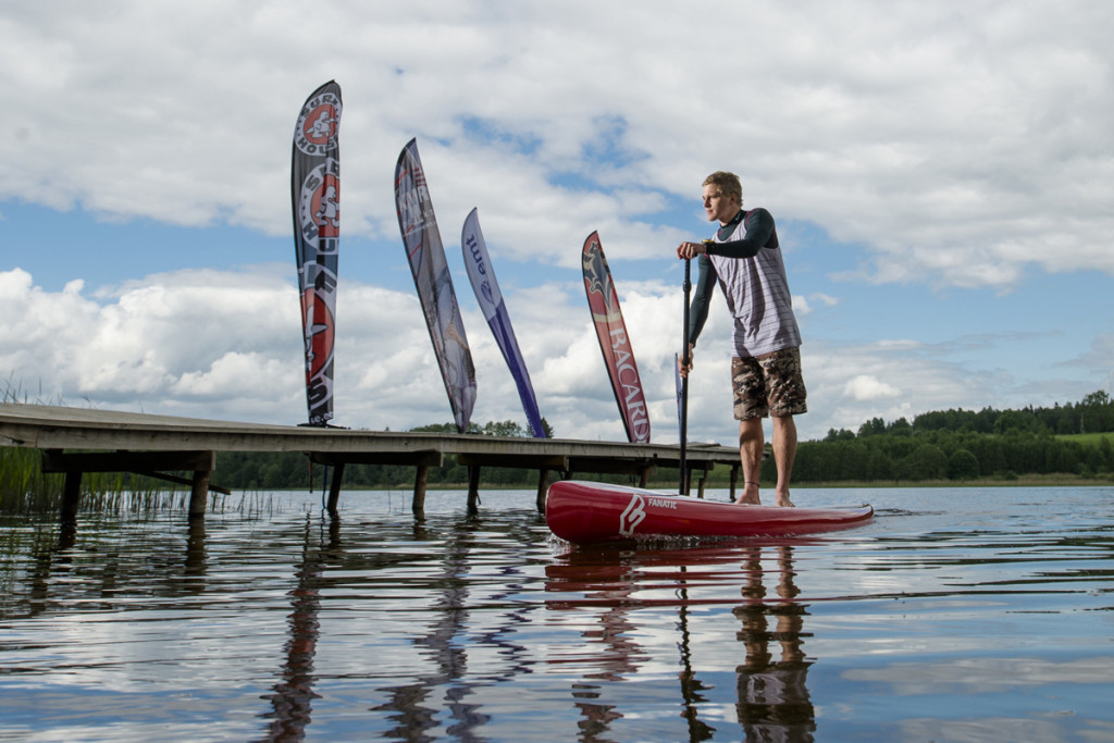 2014 SUP Eesti meister Roland Mik, foto autor Jaanus Ree