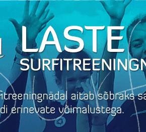 Laste surfitreeningnädal Pirita Surfiklubis