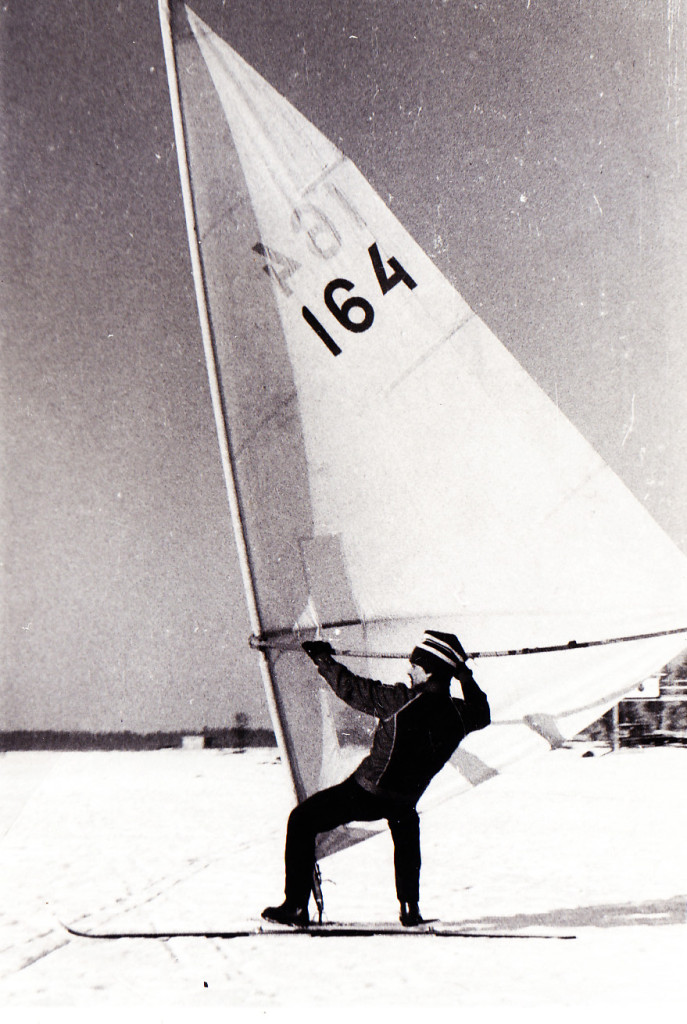 The best winter windsurf on 80s - Erki Mägar