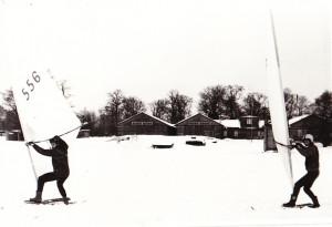 Talisurfarid Harku järvel