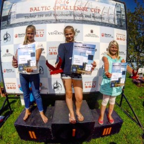 Noored surfarid osalesid Baltic Challenge Cup-il