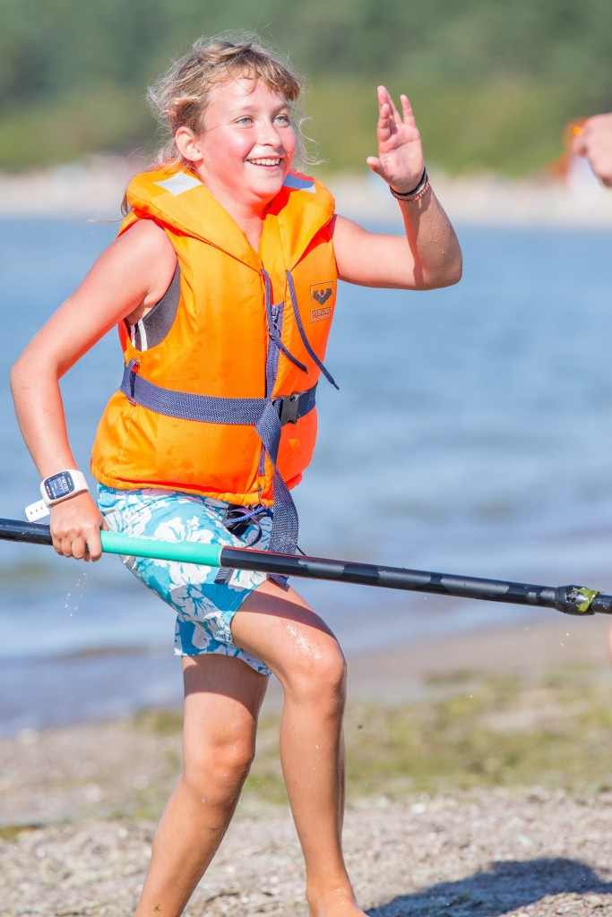 10-aastane SUP harrastaja Katriina Metstak. Foto autor Raul Harro