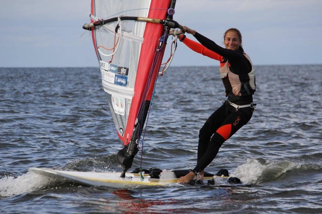 Tallinna Nädal RS:X klassi võitja - Ingrid Puusta