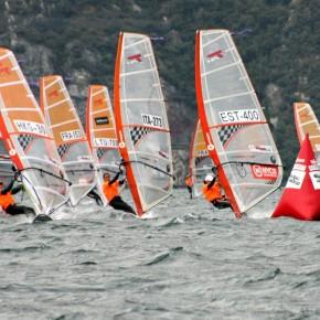 Eesti purjelaudurid osalesid noorte klassi MM-il