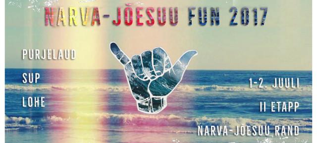 Fun sarja II etapp peetakse Narva-Jõesuus
