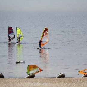 Ideaalne rannailm Estonian NeilPryde Baltic Cup'il võistlevaid surfareid ei soosinud