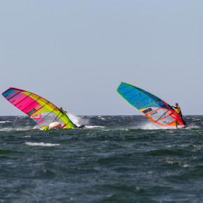 Surfi slaalomi sarja kolmas etapp peetakse esmaspäeval Saaremaal
