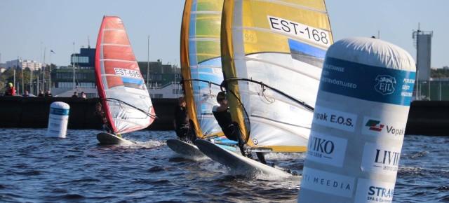 Purjetamise Eesti Meistrivõistluste võitjad on otsustatud