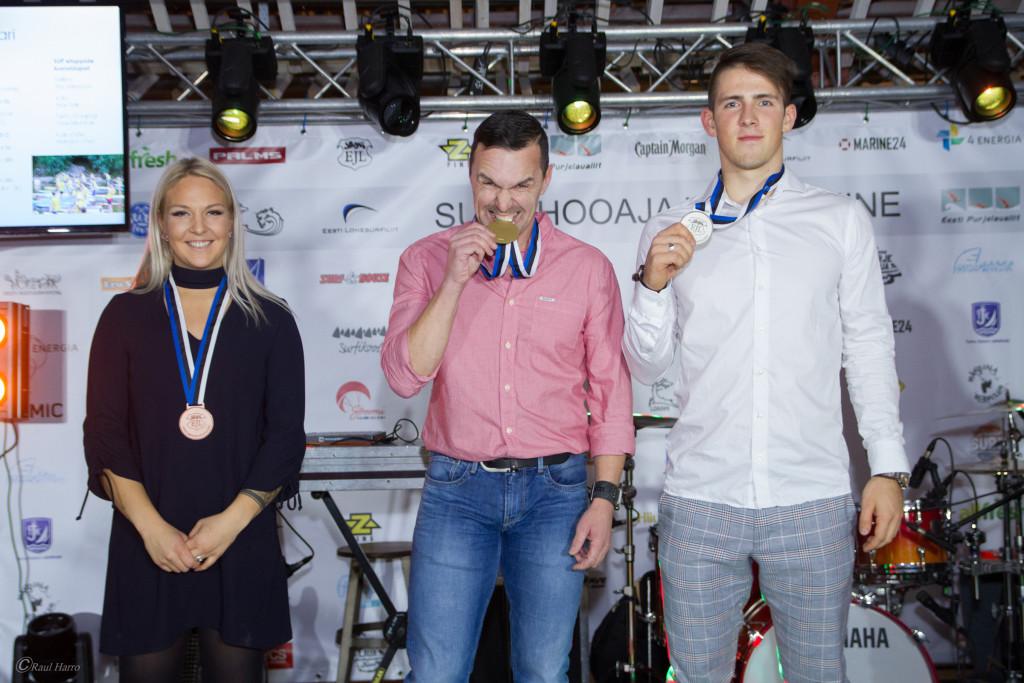 SUP EMV võitjad. Foto autor Raul Harro.