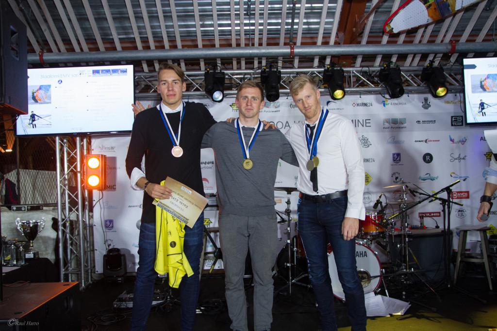 Slaalomi EMV võitjad. Foto autor Raul Harro.