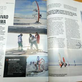 Ajakiri Sport kirjutab surfist