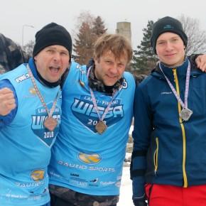 Talisurfi Eesti meistrid on Raivo Saarm ja Raul Mihkel Anton