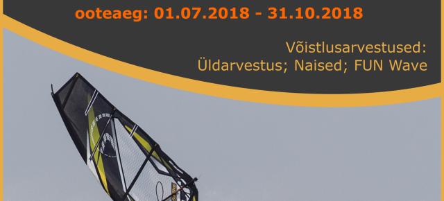 Hiiusurf Ristna Wave Classic 2018 ooteaeg on alanud, 01.07.18 - 31.10.18.