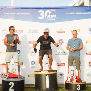 Aegna Maratoni võitis Jussi Pekkarinen