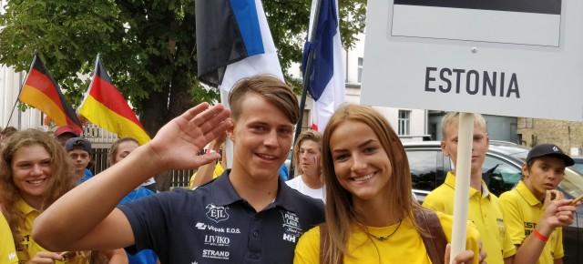 Järelkaja Techno 293 võistlusklassi maailmameistrivõistlustelt Liepajas, 4.-12. august