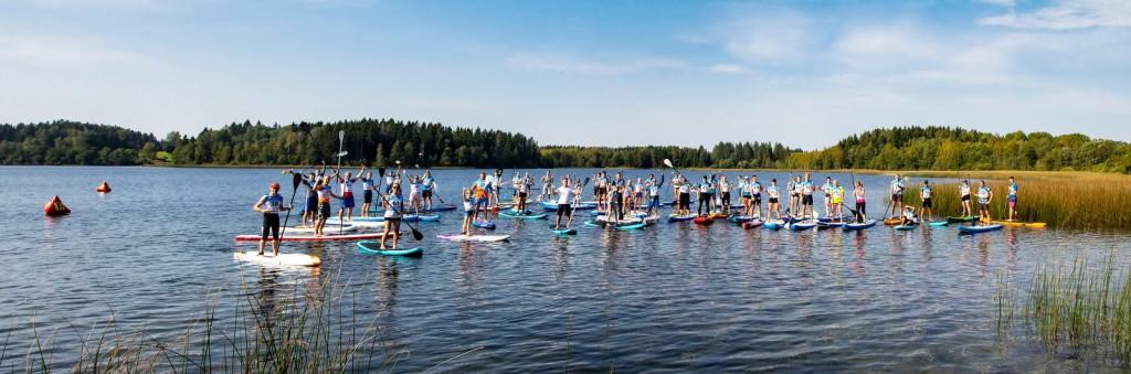 Valgamaa lahtised MV aerulauasõidus - Nõuni aerulauafestival. 09.09.2018. a. @Nõuni, foto: Kaimo Puniste