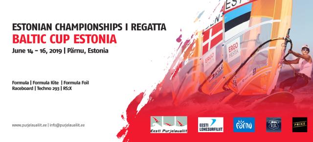 Täiendatud 12.06! Suvepealinnas Pärnus toimuvad 14.-16. juuni Eesti meistrivõistlused ja Baltic Cup Estonia