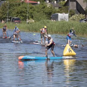 KOKKUVÕTE JA TULEMUSED - SUP Eesti meistrivõistluste II etapp Viljandis Paala järvel