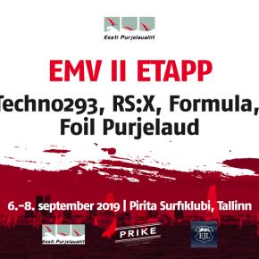 Pirita Surf - EMV II etapp Technodele, RS:X-idele, Formulatele ja Foilidele