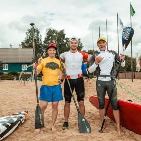 Aerulaua klubide karikasarja I etapp Viljandi järve rannas 27. juunil 2020