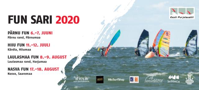 FUN sarja esimene etapp toimub Pärnus, 6.-7. juunil