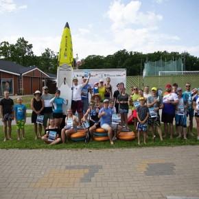 Aerulaua klubide karikasarja II etapp Nõuni järve rannas 5. juulil 2020