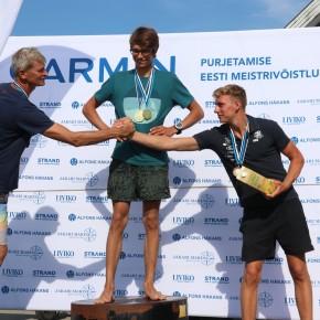 Purjelaudurid selgitasid Tallinna lahel Garmin Purjetamise Eesti Meistrivõistluste sarja etapi parimad