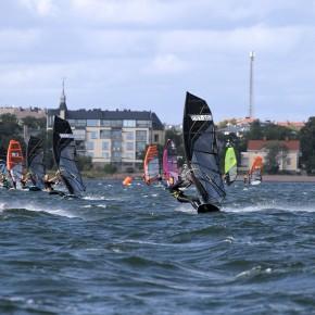 Eestlased tõid Soome slaalomi purjelaua võistlustelt kolmikvõidu