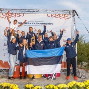 Medalisadu Techno293 Euroopa meistrivõistlustelt